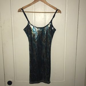 Dresses & Skirts - Coachella inspired sequin dress
